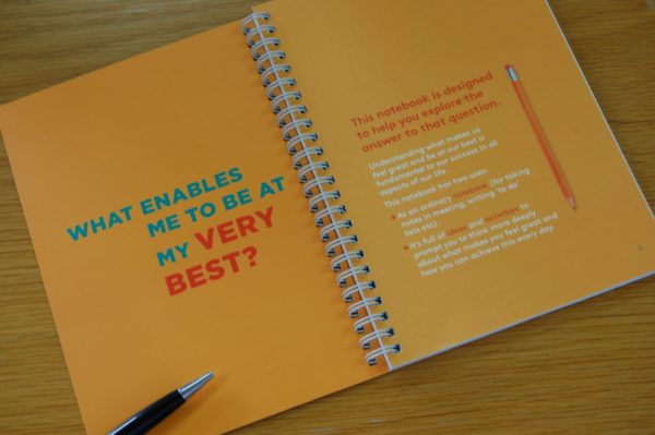 Wellbeing notebook